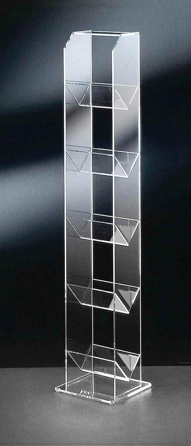 cd st nder aus acrylglas rd acrylm bel cd dvd st nder. Black Bedroom Furniture Sets. Home Design Ideas