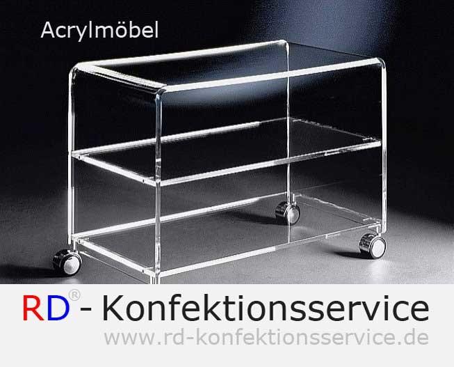 RD Acrylmöbel | TV-Wagen